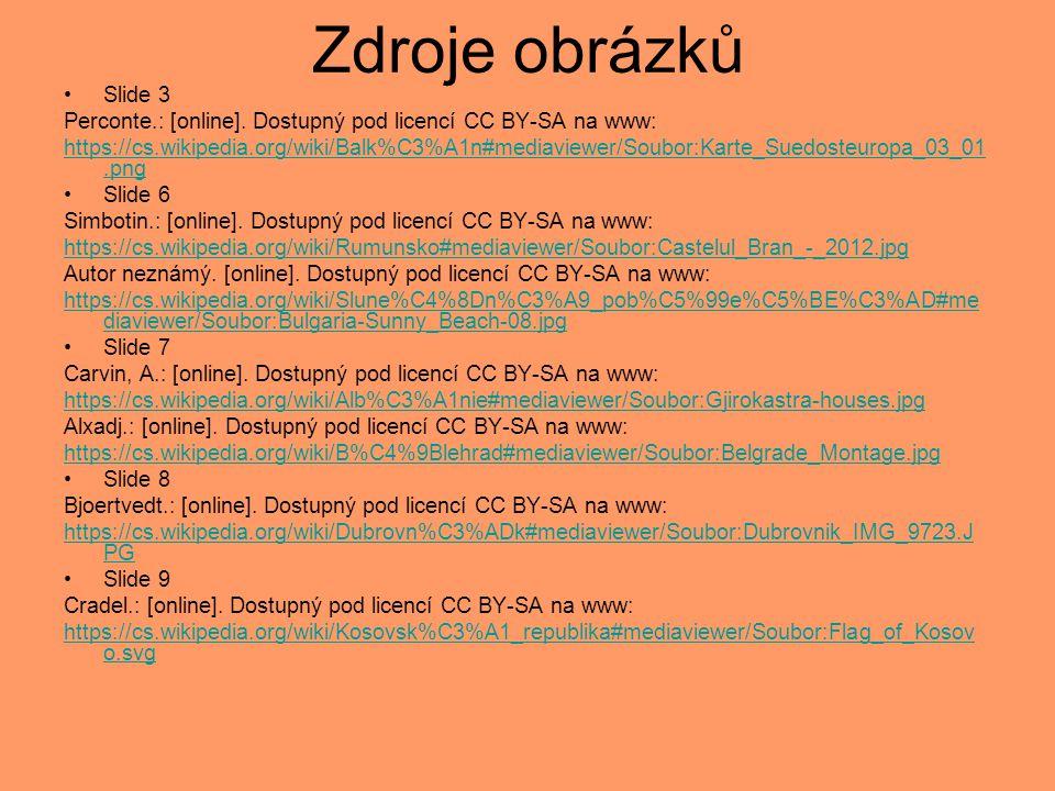 Zdroje obrázků Slide 3. Perconte.: [online]. Dostupný pod licencí CC BY-SA na www: